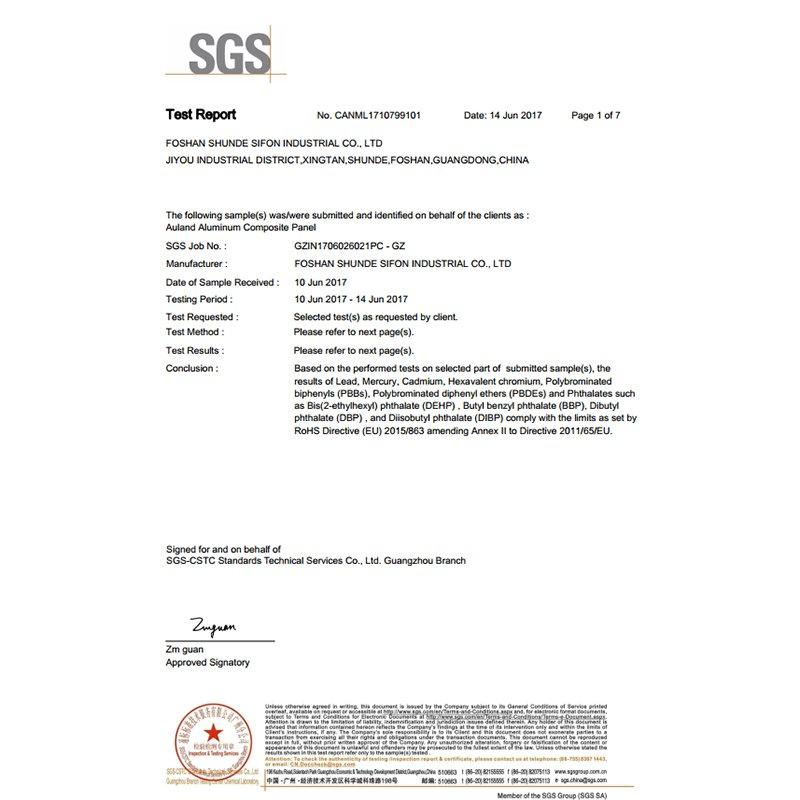 SGS-ROHS Test Report