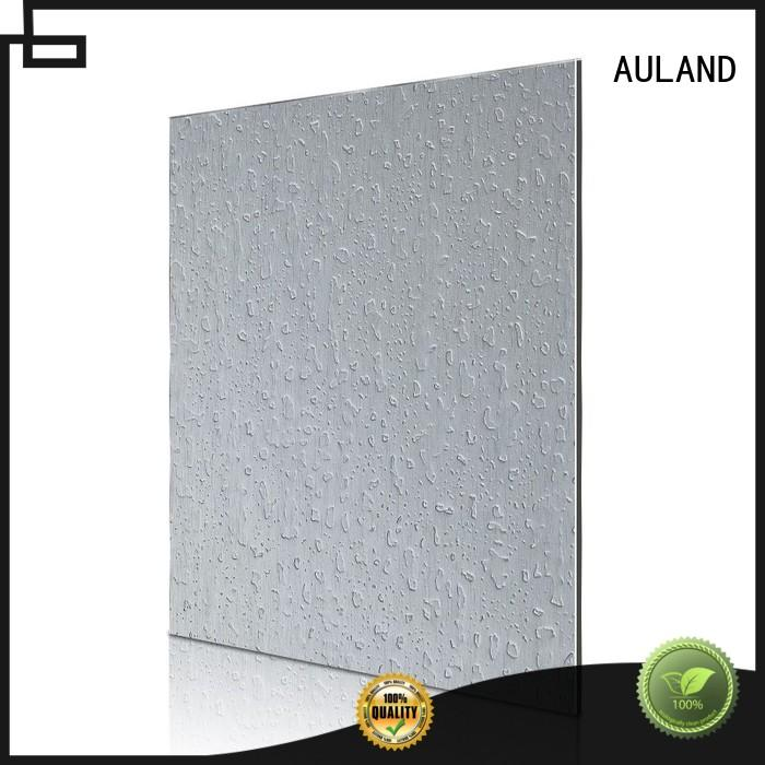designer acm aluminium composite panel silver good quality for daily life