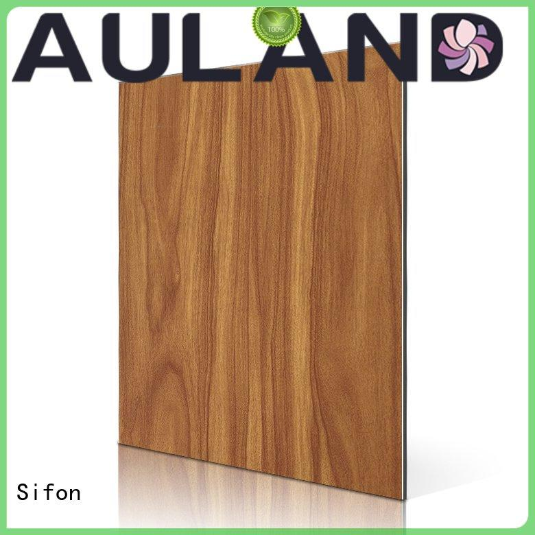 aluminium composite panel price list feve purple Sifon Brand
