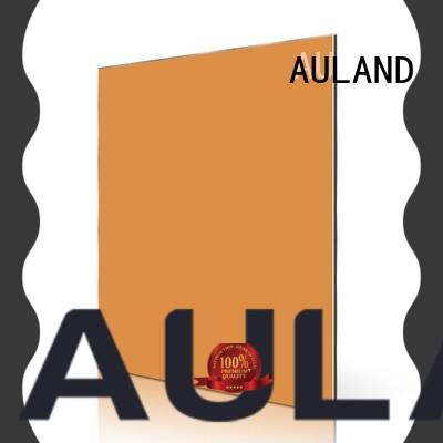 AULAND panel acp decorative wall panels supplier for construction site