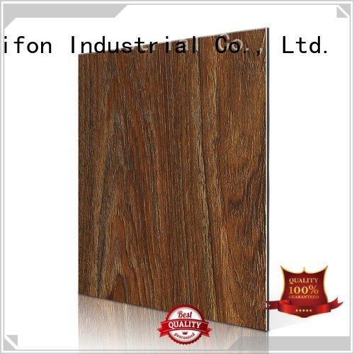 Sifon aluminium composite panel rate maple material acm