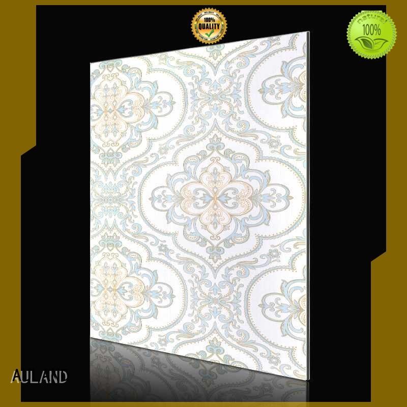golden european flower acm composite panel AULAND Brand
