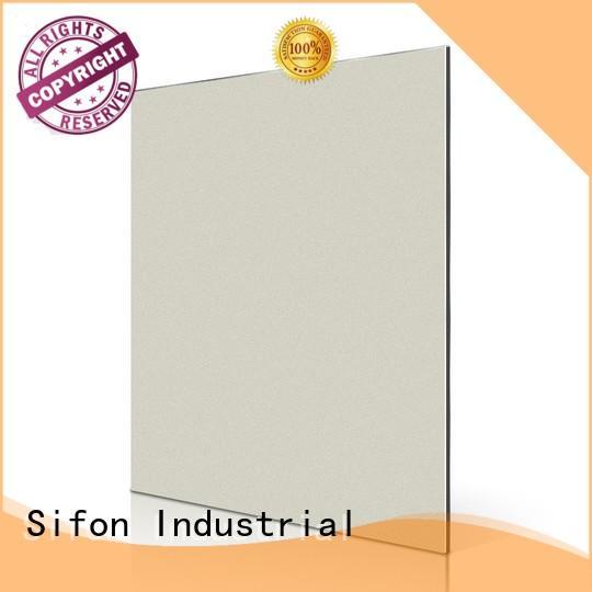 Quality AULAND Brand aluminium composite panel cladding price black