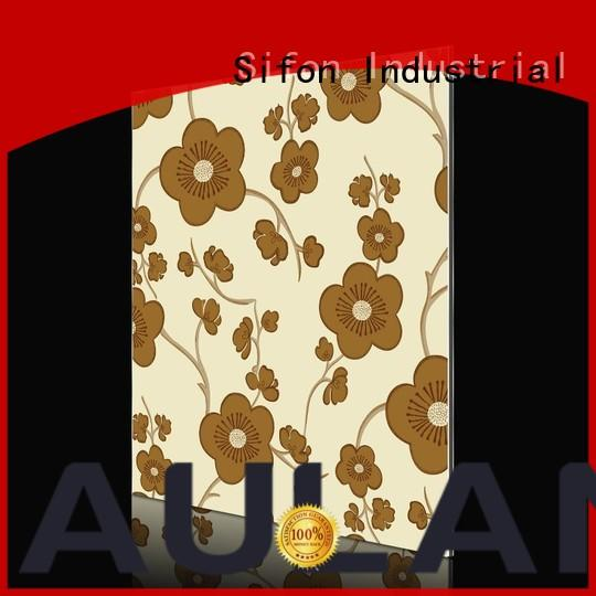 AULAND panel aluminium composite panel for sale factory price for industrial buildings