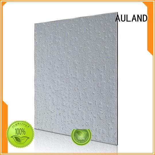 AULAND popular acm aluminium composite panel for work