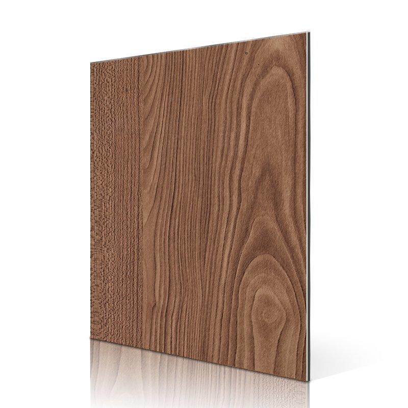 SF504-W Dark Maple acp aluminum composite panel