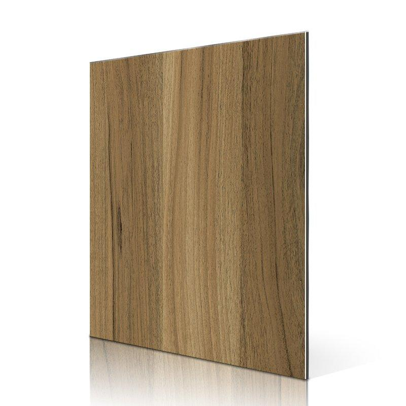 SF553-W Water Peach Wood acm aluminium composite panel