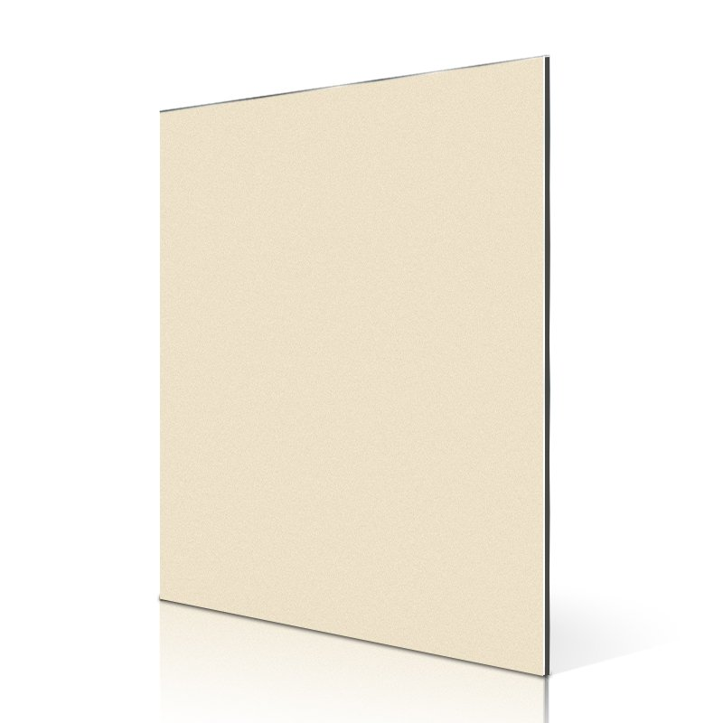 Sifon AL08-R Champagne Gold acp panel building design PVDF Metallic ACP image2