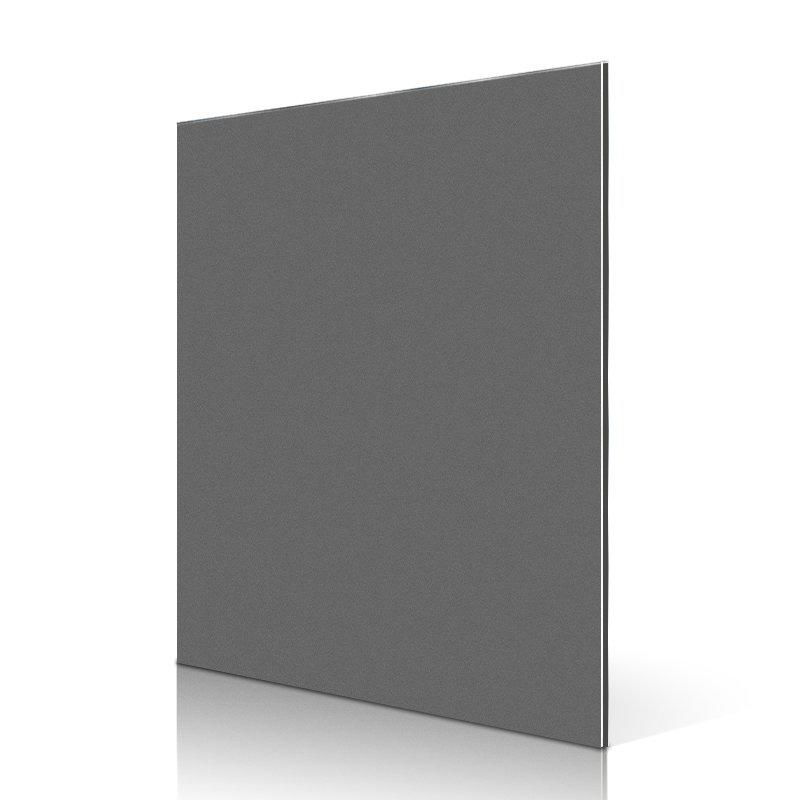 AL32-R Black Silver aluminum composite panel cladding