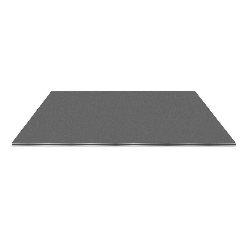 AL32-R Black Silver aluminum composite panel cladding