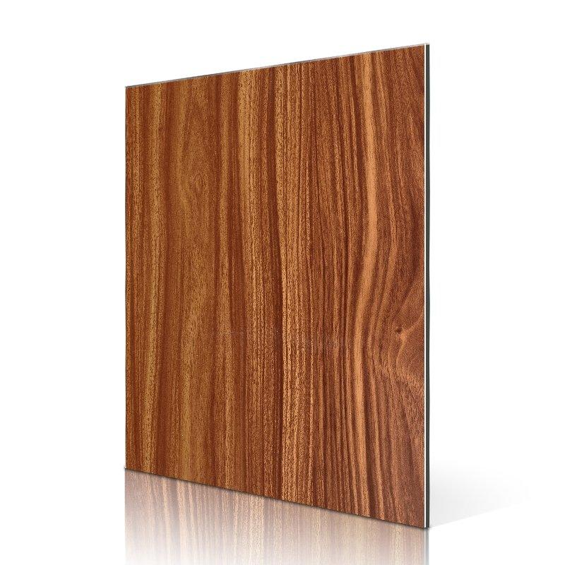 RC202-W Dark Teak aluminum composite material suppliers