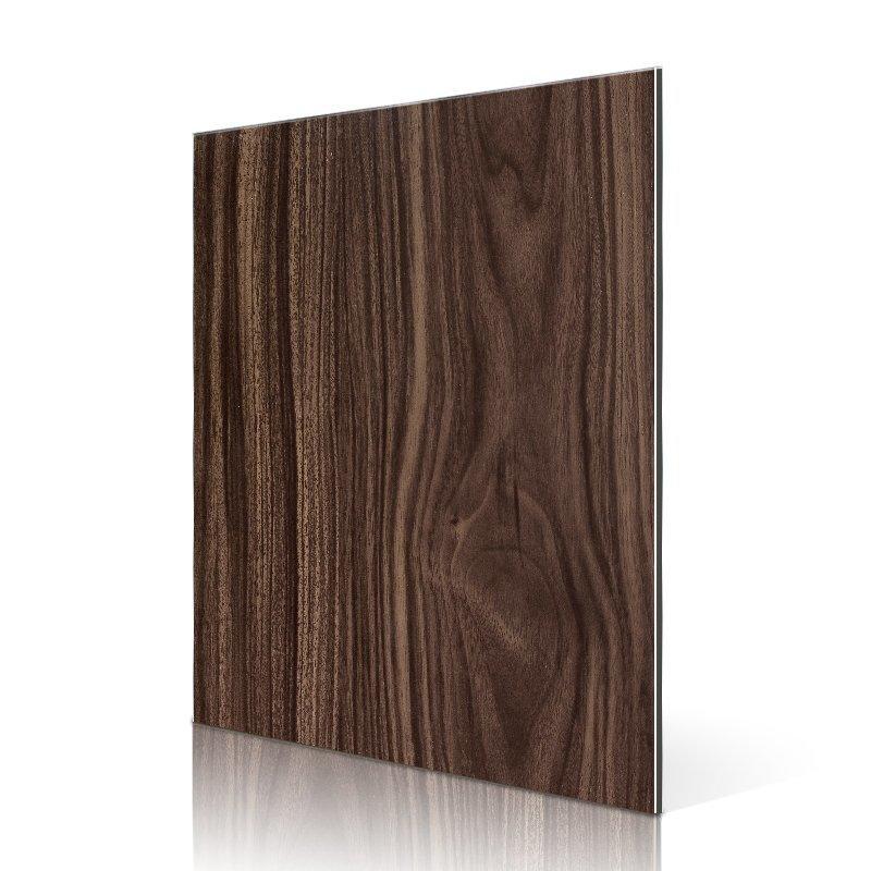 RC203-W Dark Walnut acp aluminium sheet