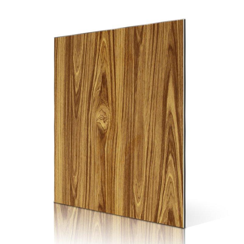 Sifon RC209-W Yellow Teak acp panel board PVDF Pattern ACP image5