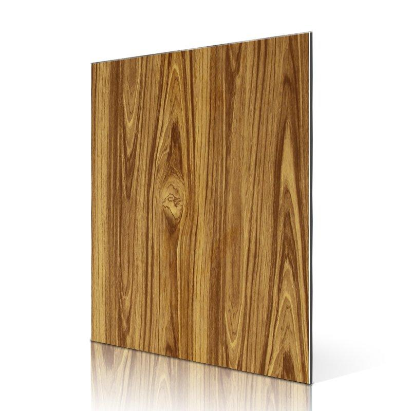 RC209-W Yellow Teak acp panel board