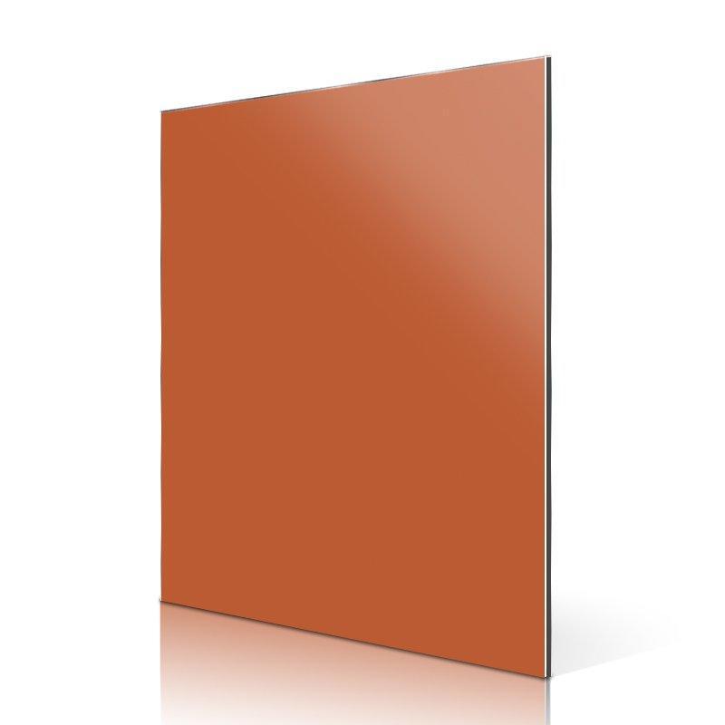 AL89-R High Light Orange aluminum composite panel manufacturers