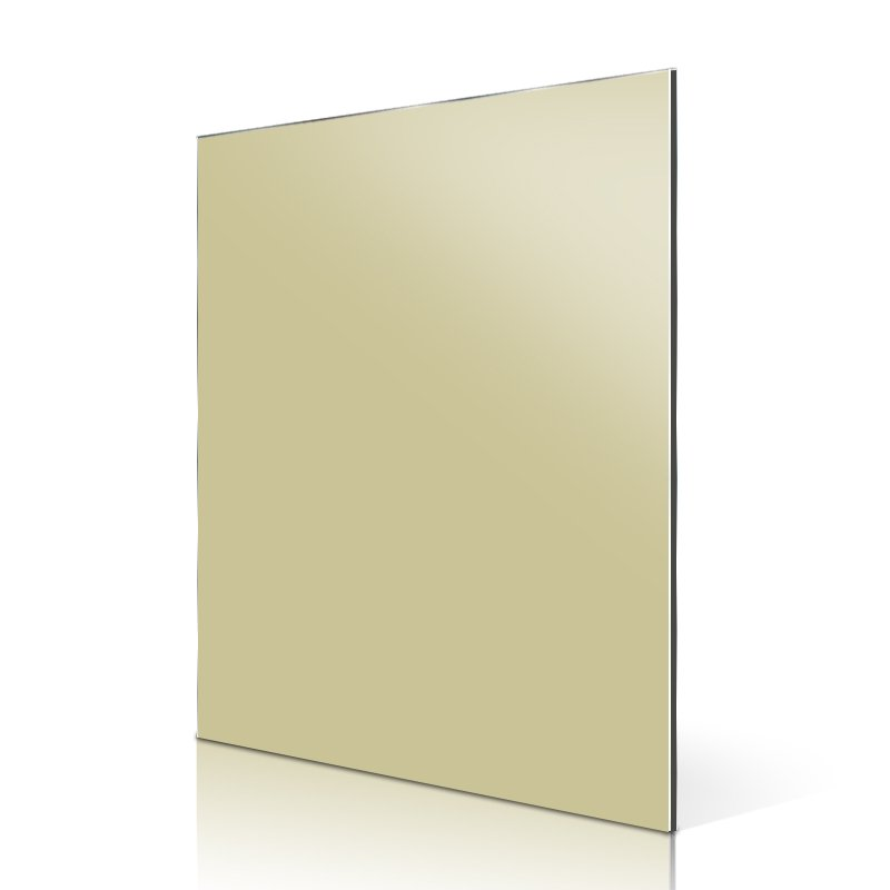 Sifon AL91-R High Light Apricot aluminum composite panel price High Glossy ACP image4