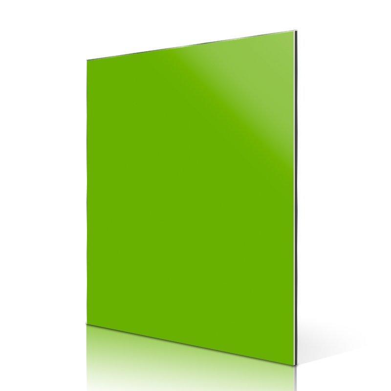 AL95-R High Light Light Green acm panels details