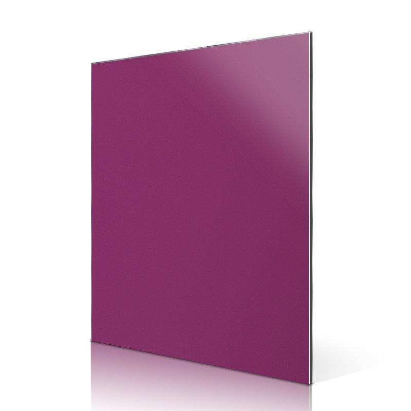 Sifon AL213-R High Light Purple Pink aluminium composite sheet High Glossy ACP image2