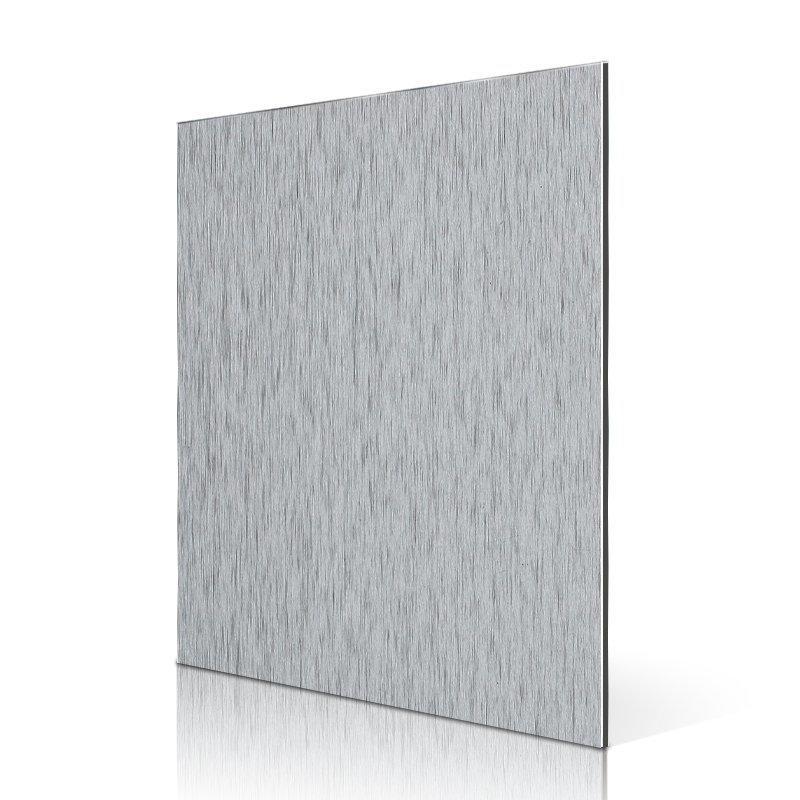 AL06-B Brush Silver aluminium composite cladding