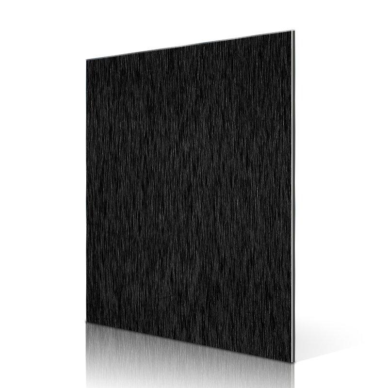 Sifon AL54-B Brushed Black acp cladding Hairline ACP image1
