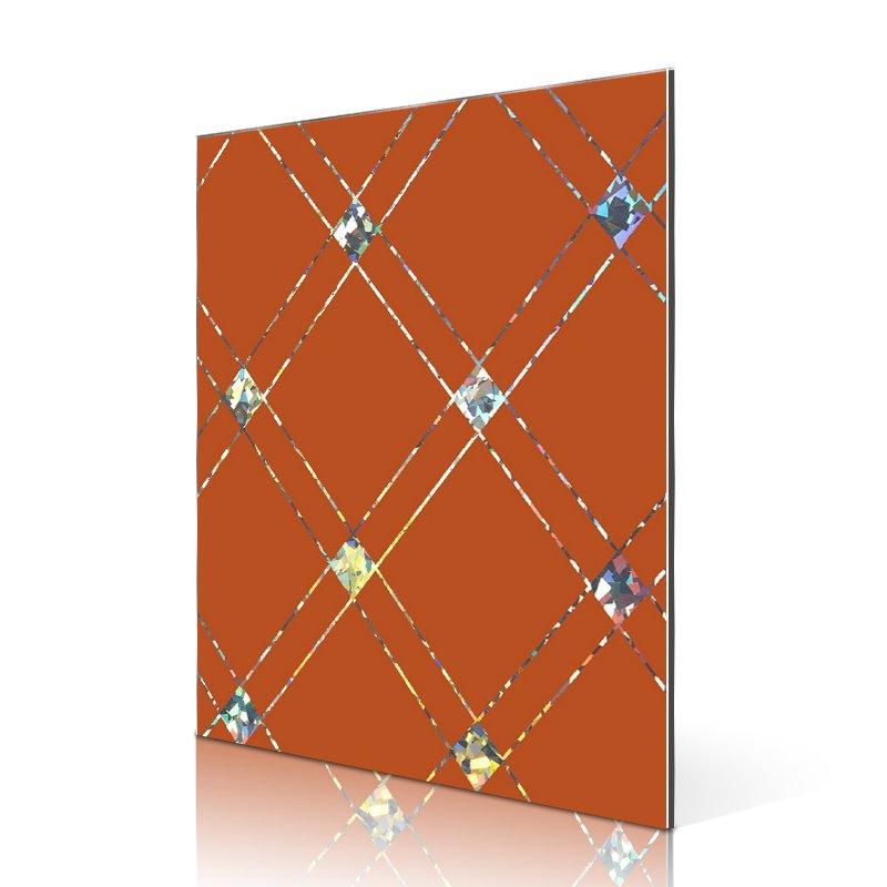 Sifon SAA10211-AL Laser Square Bricks acp panel suppliers Laser ACP image5