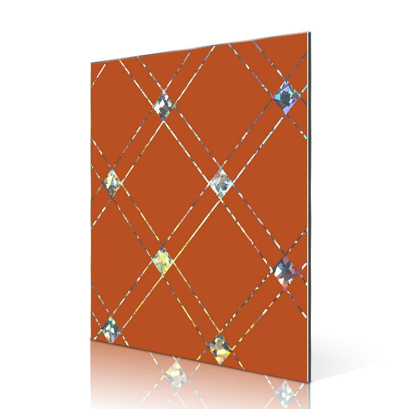 SAA10211-AL Laser Square ladrillos acp panel proveedores