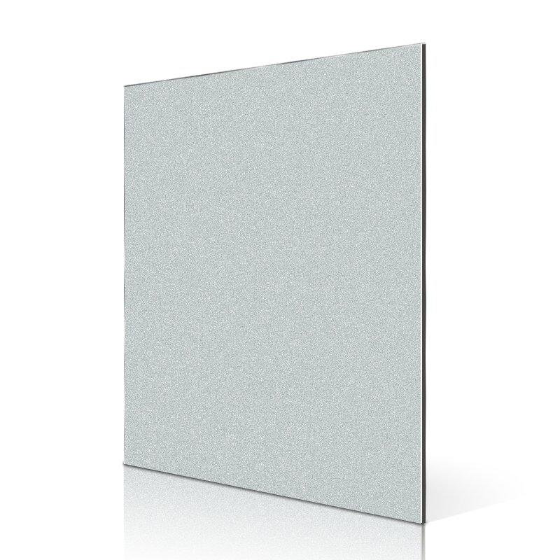 SF717-BP Bright Pearl Silver aluminum composite panel supplier