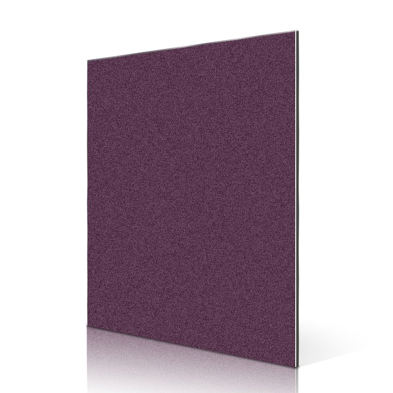 Sifon SF762-BP Pearly Sparkle Grape Purple acp aluminium composite panel price Sparkle ACP image3