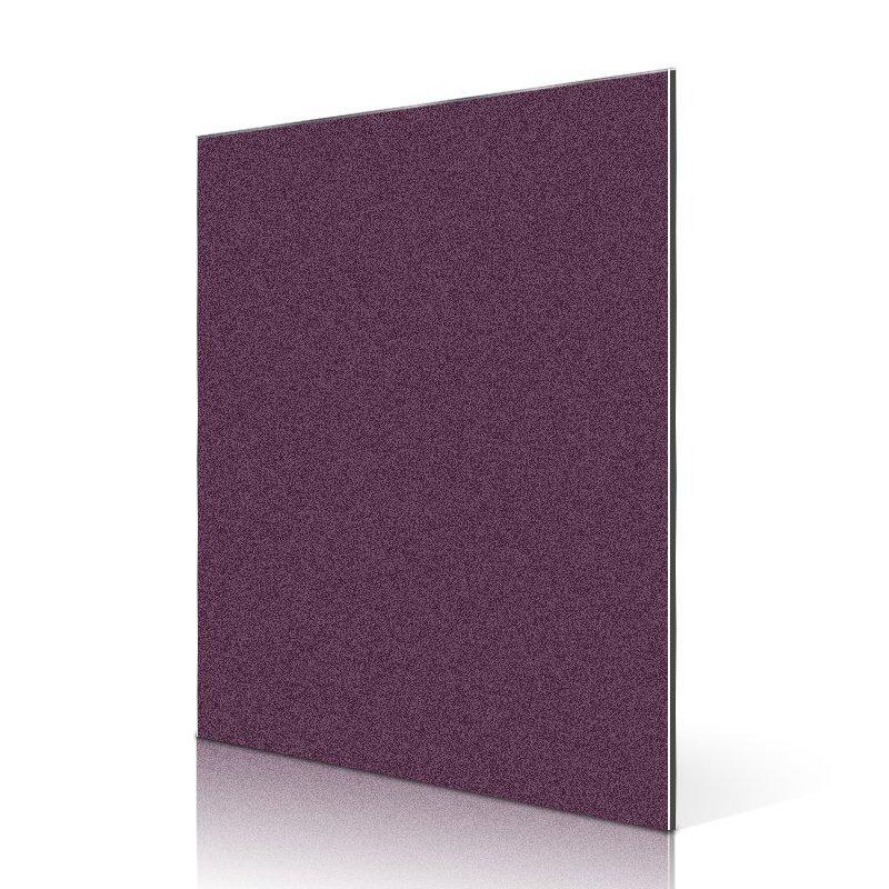 SF762-BP Pearly Sparkle Grape Purple acp aluminium composite panel price