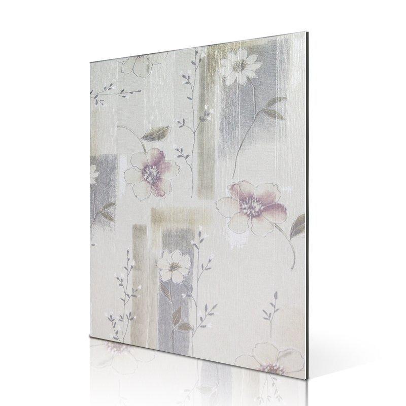 SAA34606-PVC Veneer Elegance Flower Patten acm panel