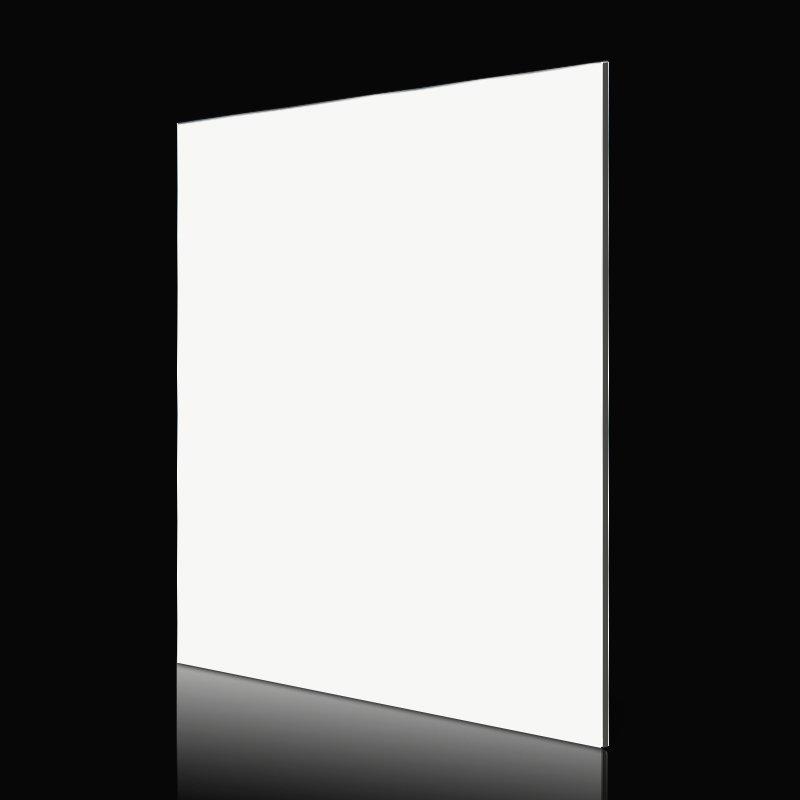 Sifon AL03-R Pure White acp sheet building Solid Color ACP image5