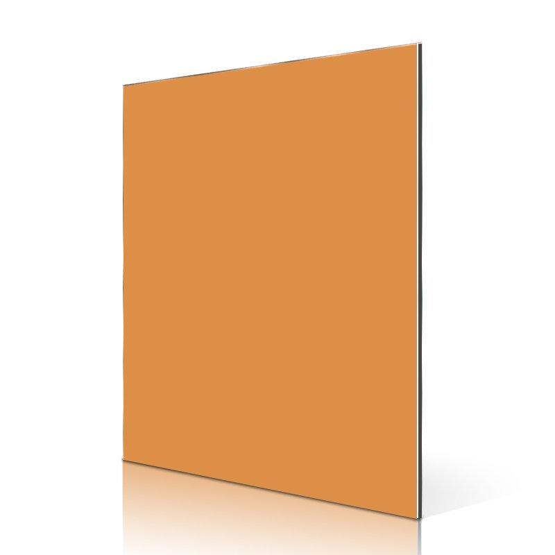 AL19-R Daffodil Yellow aluminium composite wall cladding