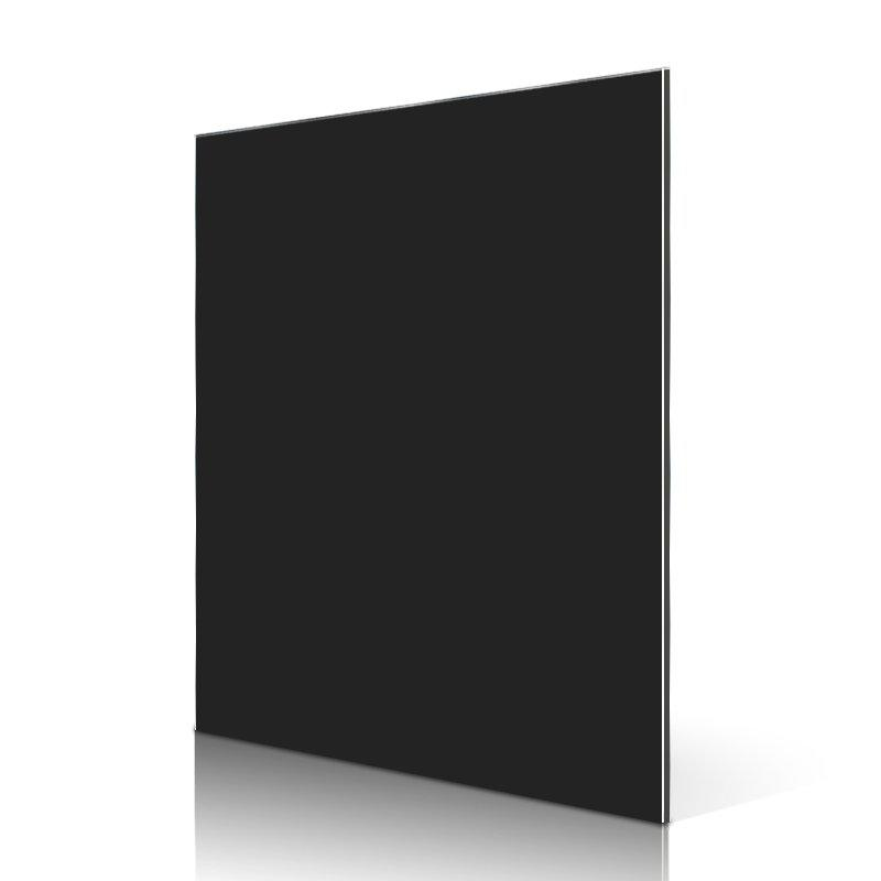 AL24-R Black aluminium composite panel cladding price