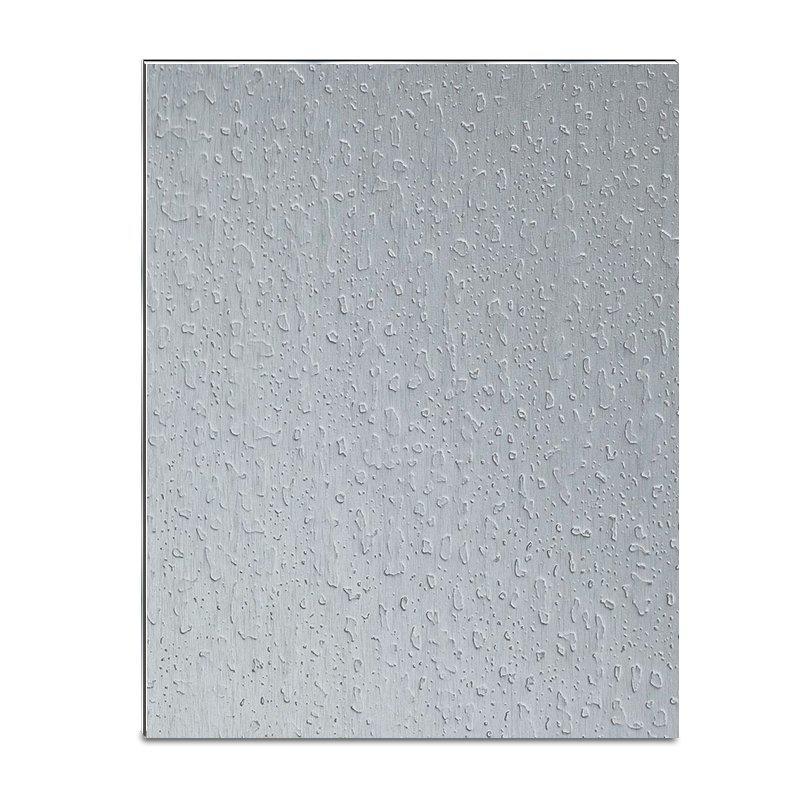 ED03-AL06 Silver Brushed Granular acp sheet