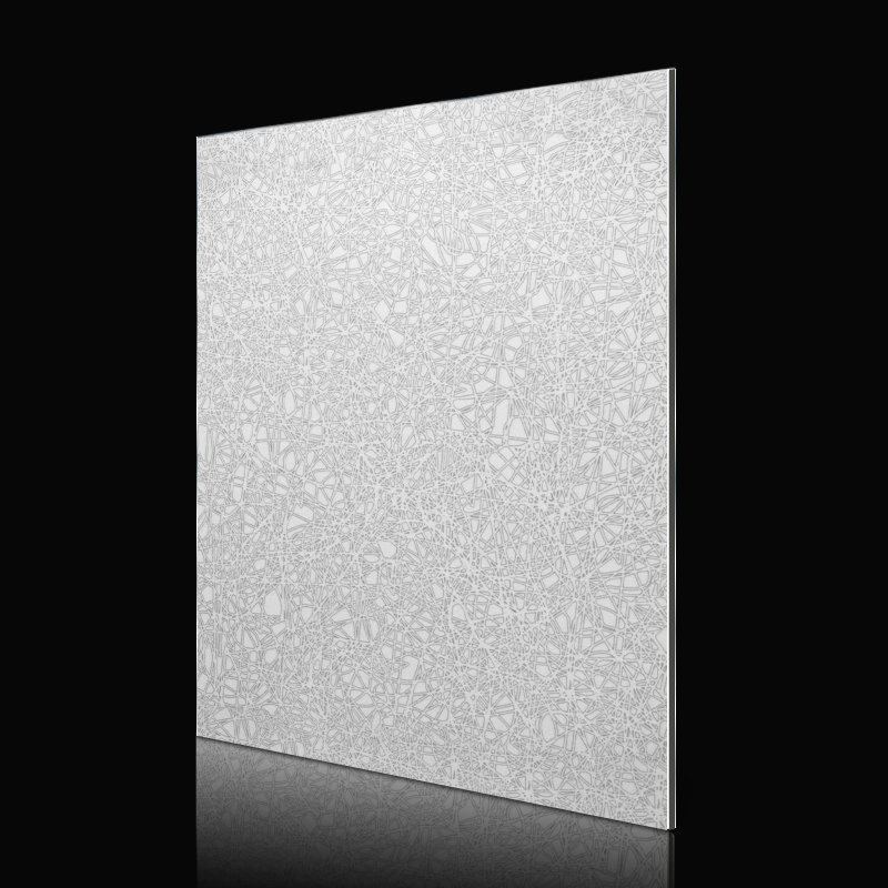 Sifon SAA240q62-ABS Matte Light Grey labyrinth acm wall panels Abstract ACP image5