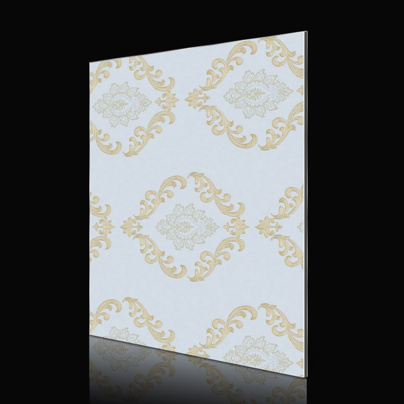 Sifon SAA249G196-AB Golden Wall Paper Flower acp wall cladding Abstract ACP image4