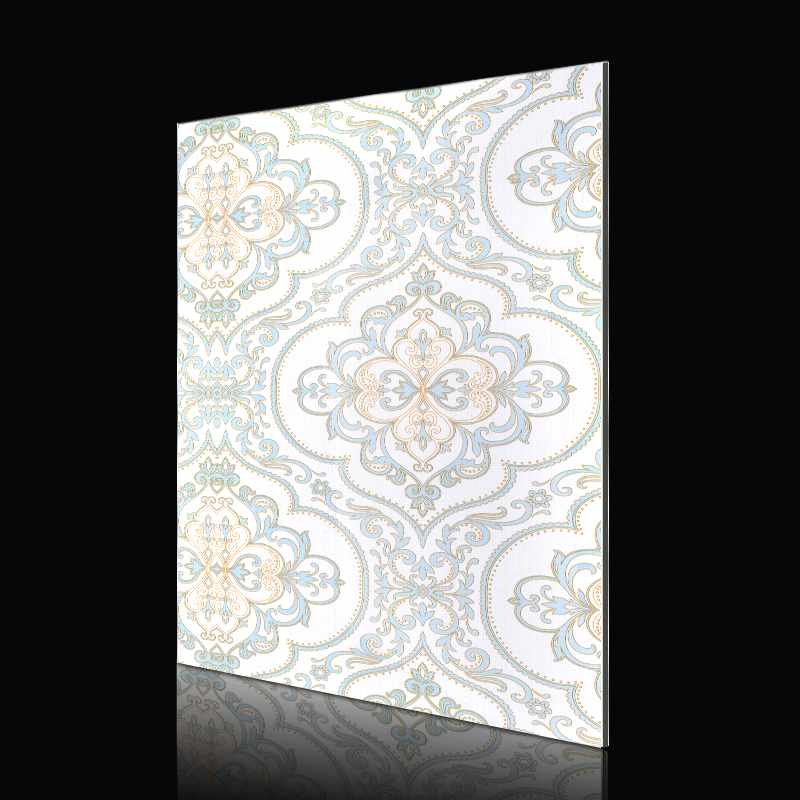 Sifon SAA250f01-ABS Matte Blue European Style Flower acp wall cladding designs Abstract ACP image3
