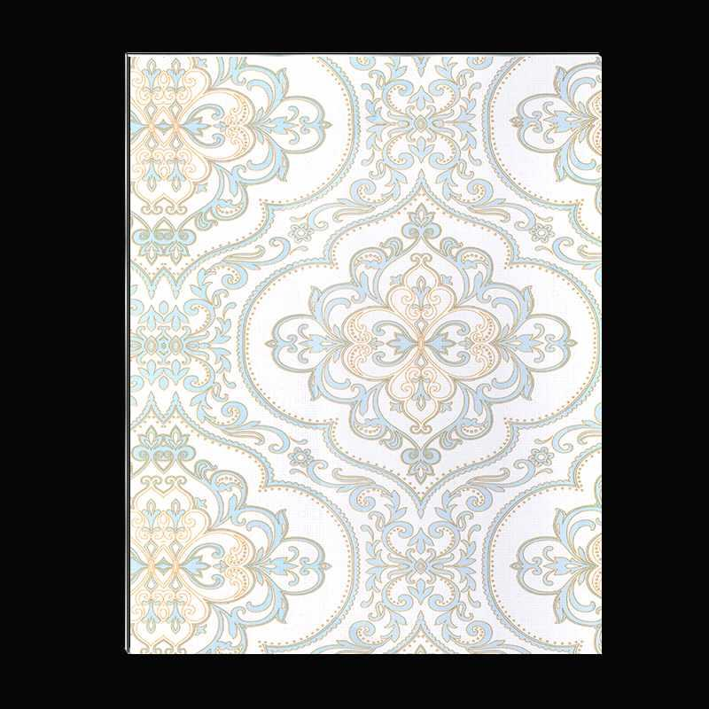 SAA250f01-ABS Matte Blue European Style Flower acp wall cladding designs