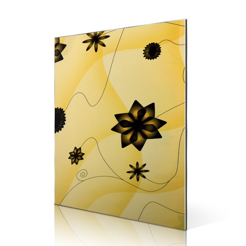Sifon SAA16310-FG Popular Yellow windmill Flowers aluminum composite board suppliers Flower&Grass ACP image2