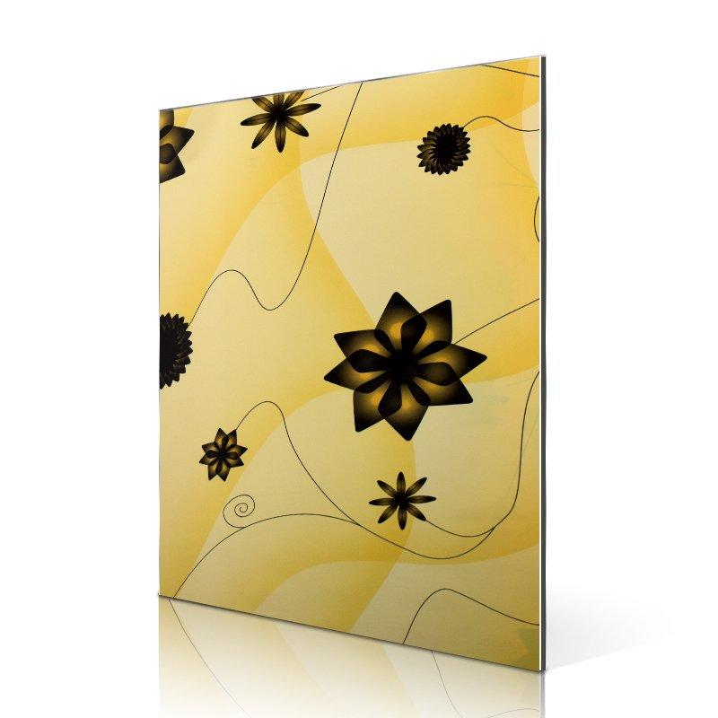 SAA16310-FG Popular Yellow windmill Flowers aluminum composite board suppliers