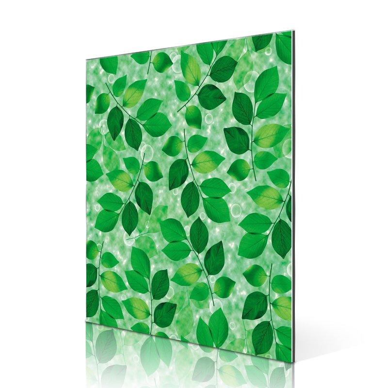 Sifon SF4401-FG Green Leaves aluminum composite panel design Flower&Grass ACP image1