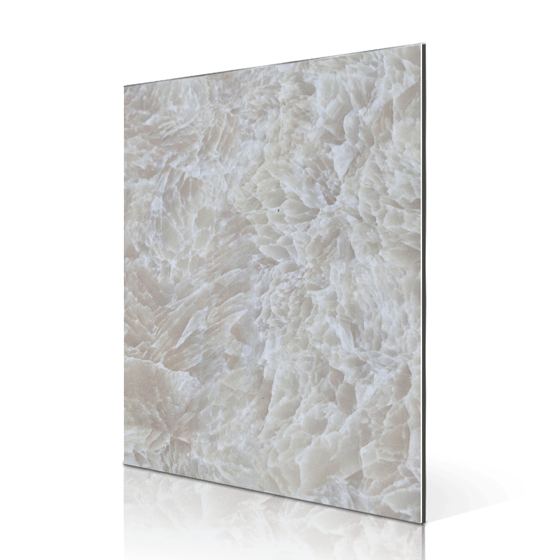 Sifon SF441-S Snow Flower Jadestone  acm composites panels Marble ACP image1