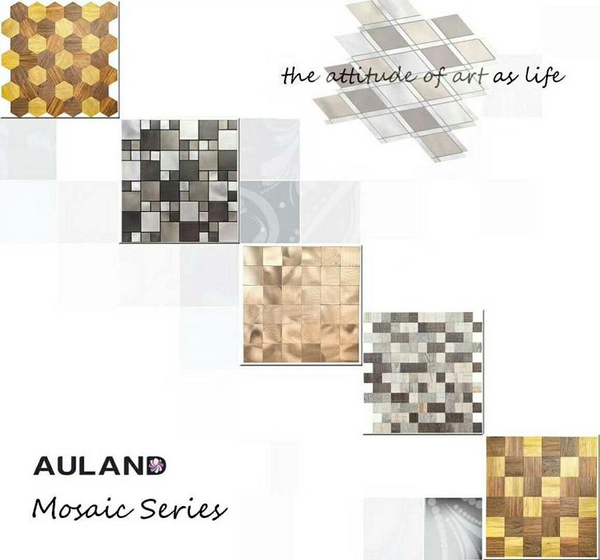 Auland Mosaic aluminium composite panel