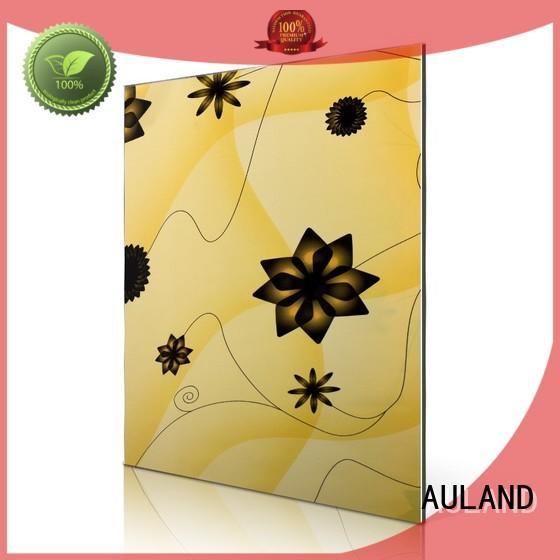 Custom leaves windmill aluminium composite sheet price AULAND pattern