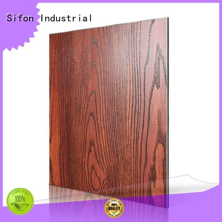 aluminum composite panel fire rating flower skin patten AULAND Brand company