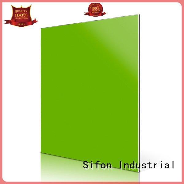 aluminium composite panel fixing price sheet acm aluminum composite panel Sifon Warranty