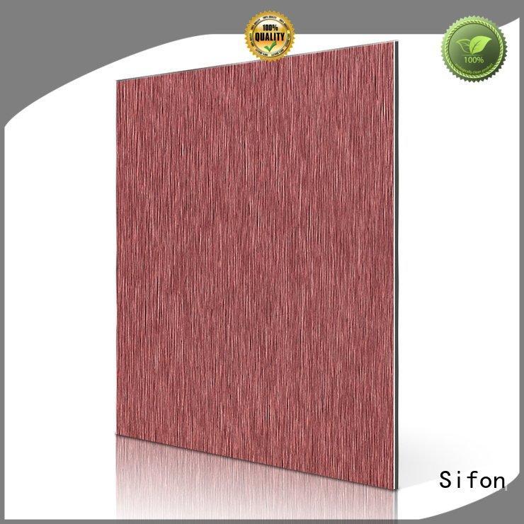 aluminium composite panel singapore red brown price Sifon