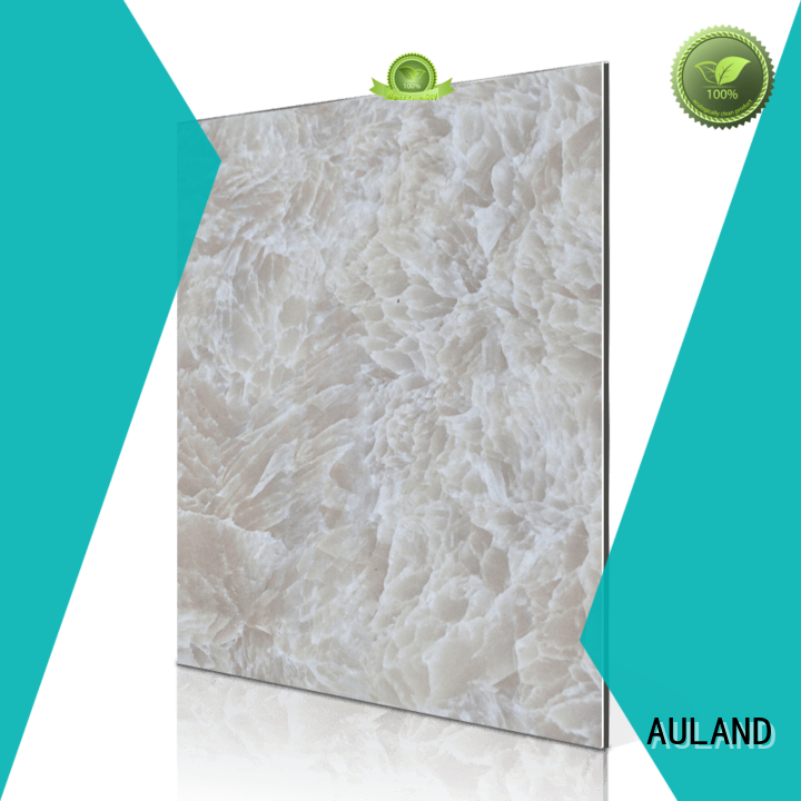 AULAND popular acp panel manufacturer good quality for school