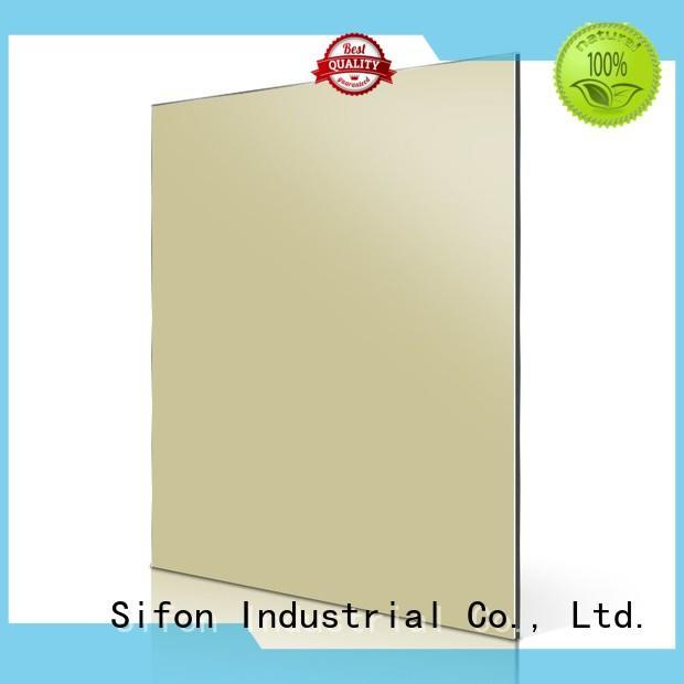 purple light acm aluminum composite panel sheet AULAND Brand
