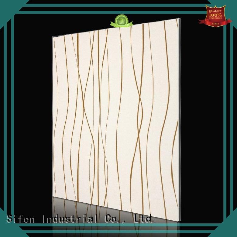 Custom sheet acm composite panel gold AULAND